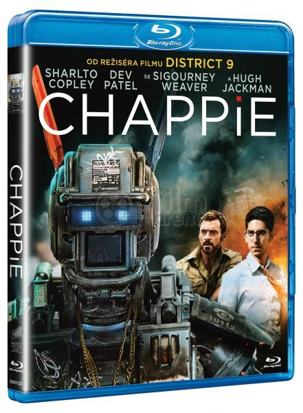 Chappie Blue-ray