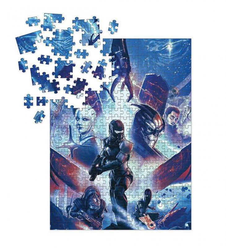 Mass Effect Jigsaw Puzzle Heroes (1000 pieces) - Dark Horse