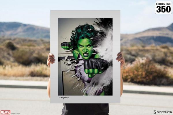 Marvel Art Print She-Hulk 46 x 61 cm - unframed
