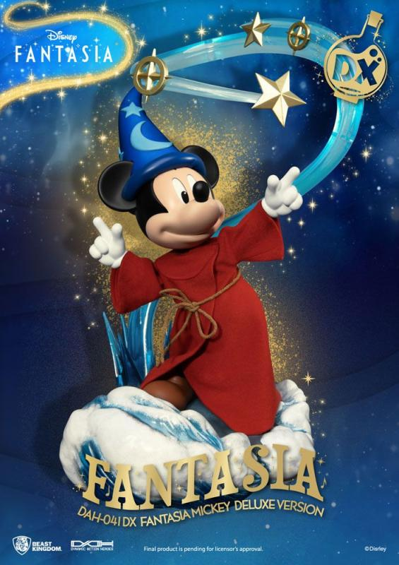 Disney Classic Dynamic: Mickey Fantasia Deluxe Version - 1/9 Figure - Beast Kingdom