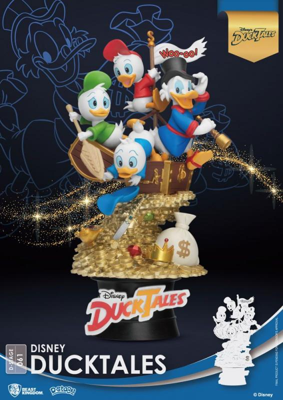 Disney Classic Animation Series D-Stage PVC Diorama DuckTales 15 cm