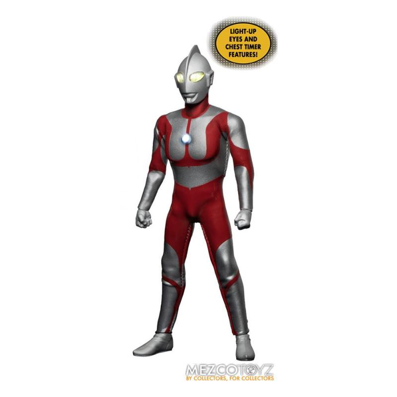 Ultraman: Ultraman 1/12 Light-Up Action Figure - Mezco Toys