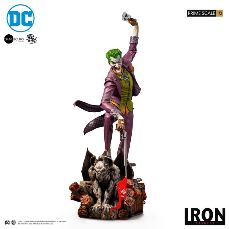 DC Comics Prime Scale Statue 1/3 The Joker by Ivan Reis 85 cm
