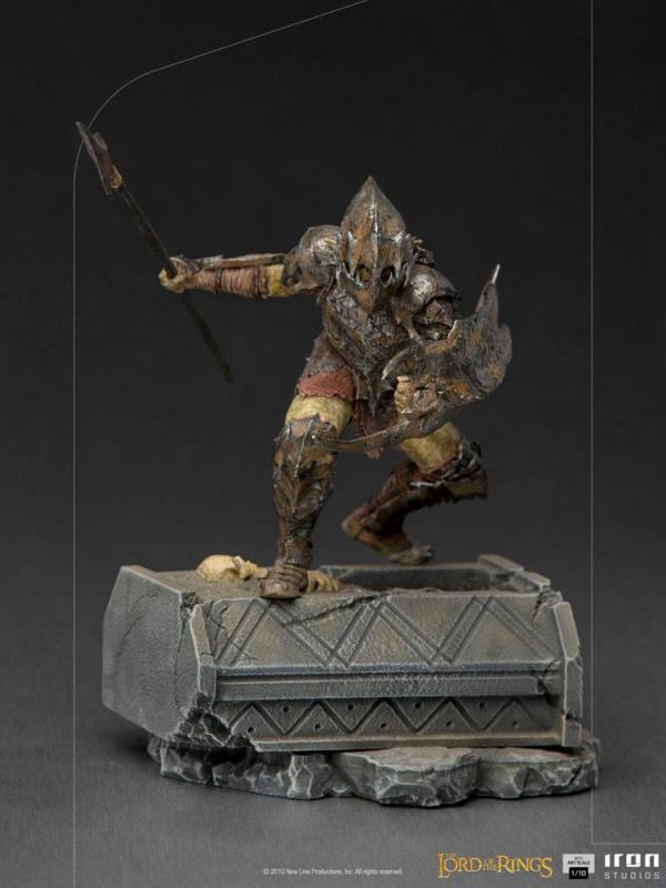 Lord Of The Rings: Armored Orc 1/10 BDS Art Scale Statue - Iron Studios