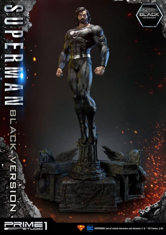 Batman Hush Statue 1/3 Superman Black Version 106 cm