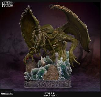 H.P. Lovecraft Museum of Madness Statue Cthulhu PCS Exclusive 56 cm