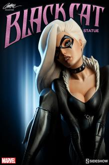 Spider-Man J. Scott Campbell Black Cat Comiquette 23 cm