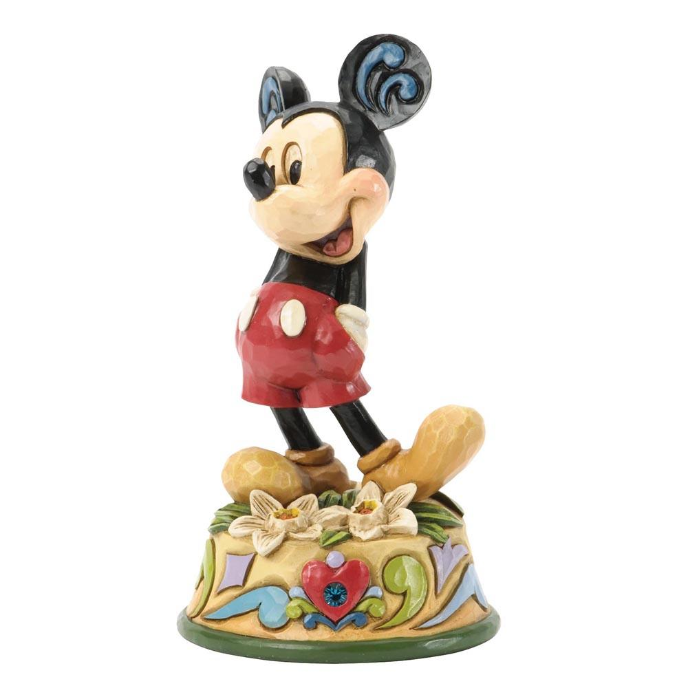 Disney Traditions December Mickey Mouse 10 cm