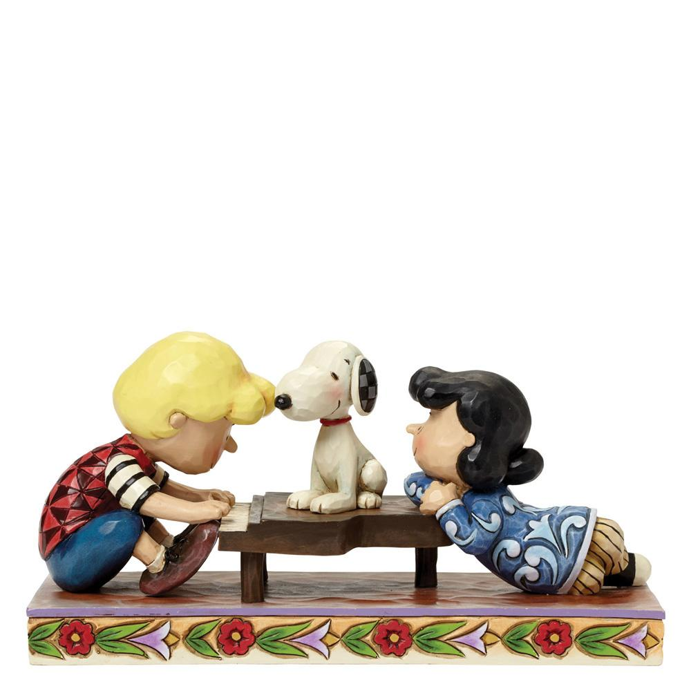 Happiness Is A Favourite Song (Schroeder, Lucy, Snoopy)