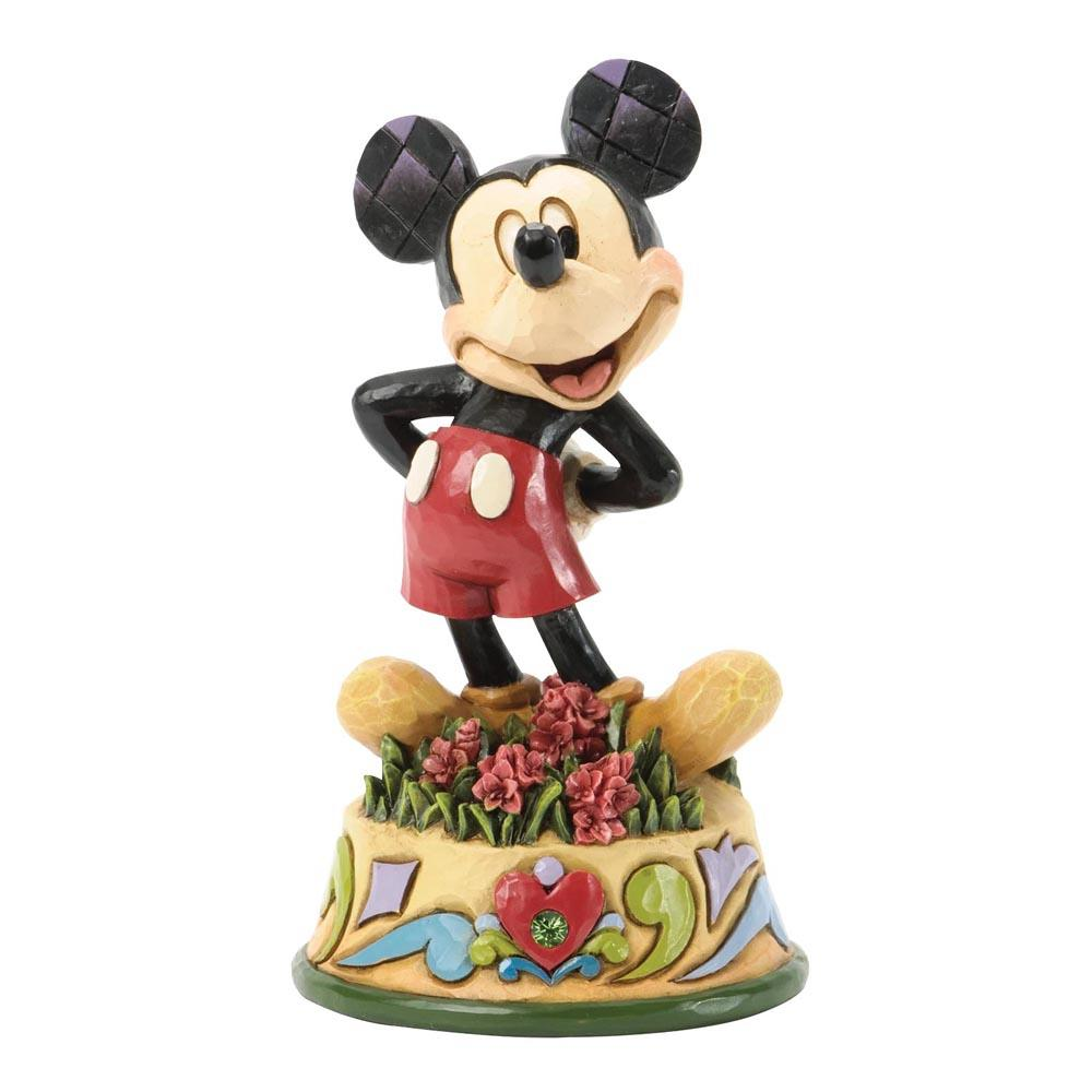 Disney Traditions August Mickey Mouse 10,5 cm