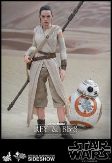 Star Wars EVII Action Figure 2-Pack 1/6 Rey & BB-8