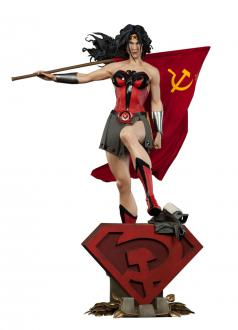 DC Comics Premium Format Wonder Woman Red Son 56 cm