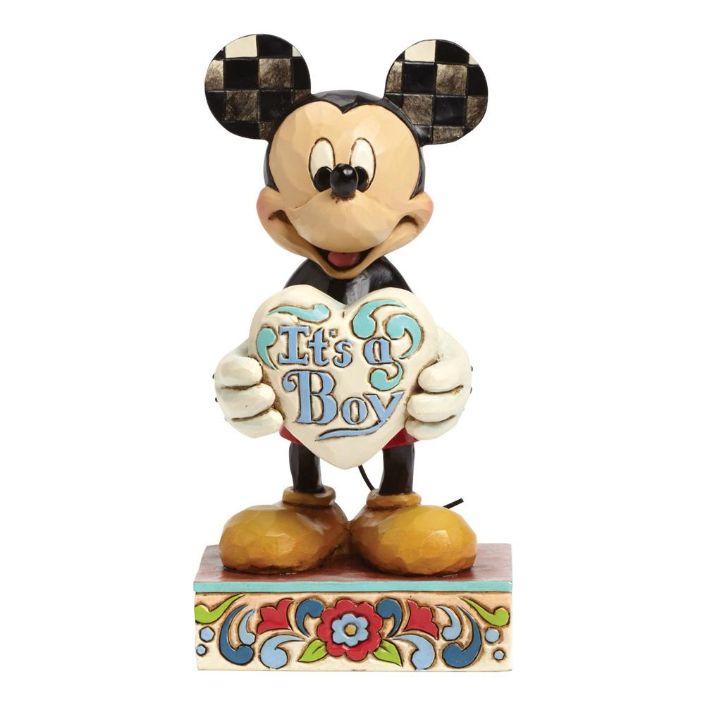 Disney Traditions It's a Boy (Mickey Mouse) 15,5 cm