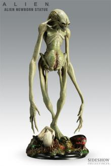 Alien Resurrection Alien Newborn Statue 35 cm
