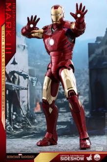 Iron Man QS Series Action Figure 1/4 Iron Man Mark III 48 cm