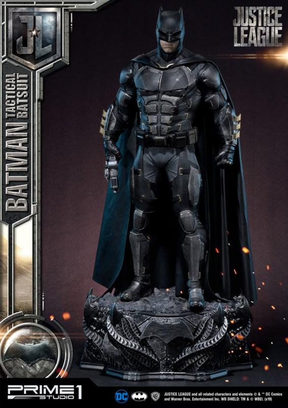 Justice League Statue Batman Tactical Batsuit 88 cm