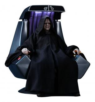 Star Wars Episode VI Movie Masterpiece Action Figure 1/6 Emperor Palpatine Deluxe Version