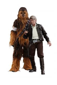 Star Wars E VII Figure 2-Pack 1/6 Han Solo & Chewbacca