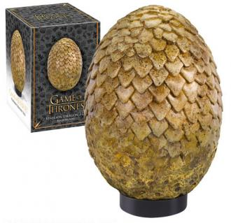 Game of Thrones: Dragon Egg Prop Replica Viserion 20 cm - Noble Collection