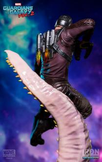 Guardians of the Galaxy Vol. 2 Battle Diorama Series Statue 1/10 Star-Lord 26 cm