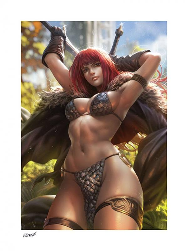 Dynamite Entertainment Art Print Red Sonja by Derrick Chew 61 x 46 cm - unframed