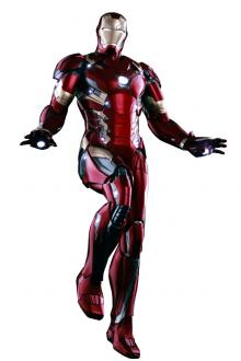 Captain America Civil War Power Pose 1/6 Iron Man XLVI
