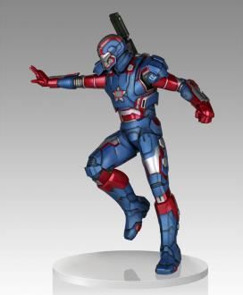 Iron Man 3: Iron Patriot - Statue 1/4 - Gentle Gaint