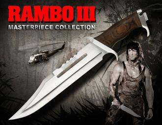 Rambo III Replica 1/1 Knife Masterpiece Collection Standard Edition 46 cm