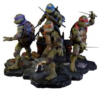 Teenage Mutant Ninja Turtles 1990 Statues Exclusive Set