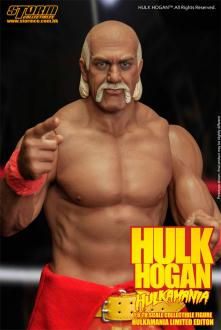WWE Wrestling Action Figure 1/6 Hulk Hogan Hulkamania
