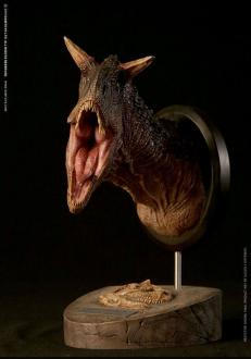 Paleontology World Museum Collection Series Bust Carnotaurus Brown Ver. 24 cm