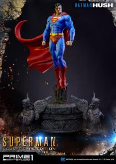 Batman Hush Statue 1/3 Superman Sculpt Cape Edition 106 cm