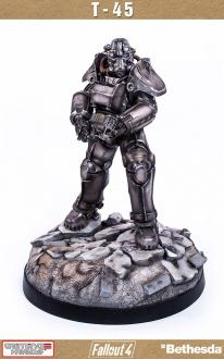 Fallout 4 Statue 1/4 T-45 Power Armor 56 cm