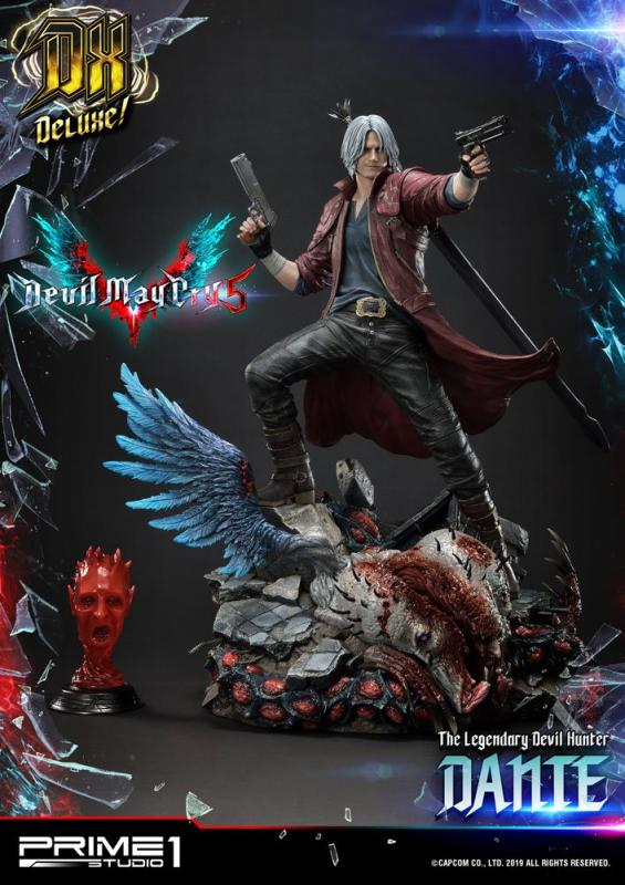 Devil May Cry 5: Dante Deluxe Ver. - Statue 1/4 - Prime 1 Studio