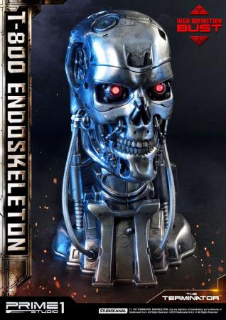 The Terminator High Definition: T-800 Endoskeleton Head - Bust 1/2 - Prime 1 Studio