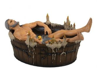 The Witcher 3: Wild Hunt Geralt in the Bath - Statue 9 cm - Dark Horse