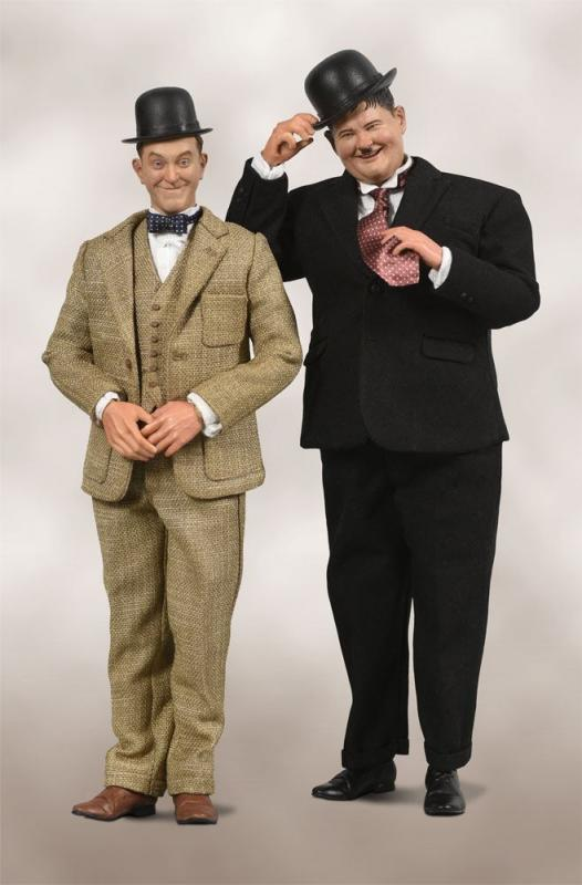 Laurel & Hardy 1/6 Action Figure 2-Pack Classic Suits - Big Chief Studios