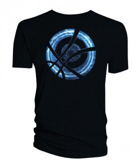 Doctor Strange T-Shirt Blue Symbol Circle black