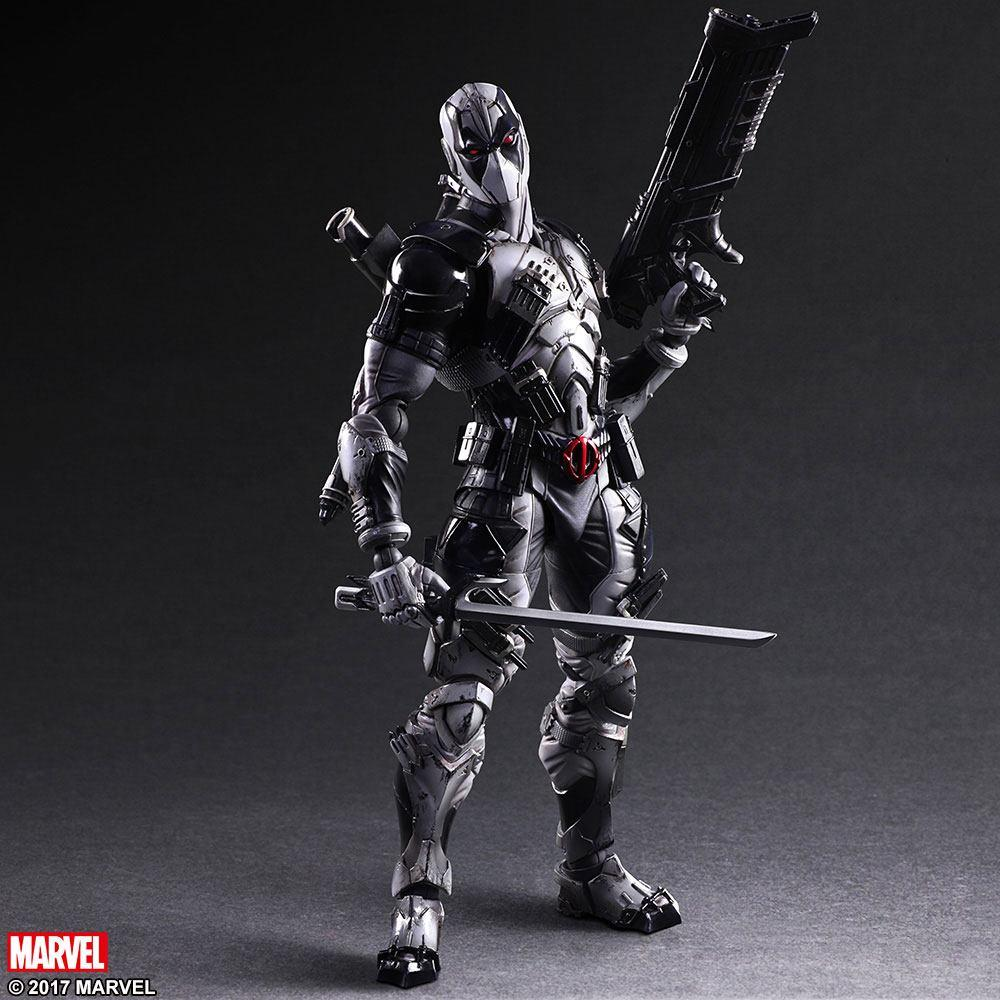 Marvel Comics Variant Play Arts Kai Action Figure Deadpool X-Force Ver. 27 cm