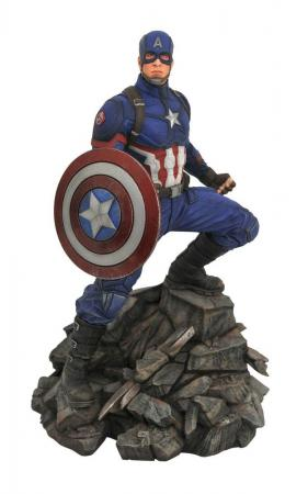 Avengers Endgame: Captain America -Marvel Movie Premier Collection Statue 30 cm - Diamond