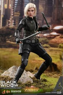 Avengers Infinity War Movie Masterpiece Action Figure 1/6 Black Widow 28 cm