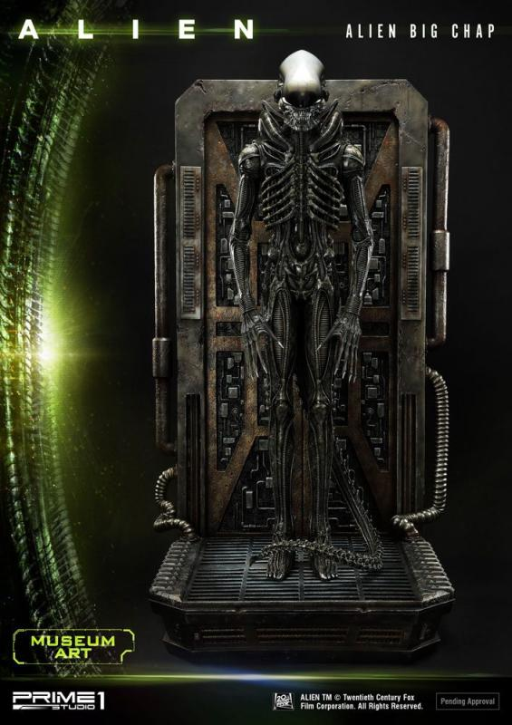 Alien Museum Art Statue / Wall Art Alien Big Chap 88 cm