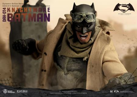 Batman v Superman Dawn of Justice Dynamic 8ction Heroes Action Figure 1/9 Knightmare Batma