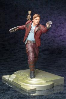 Guardians of the Galaxy - Star lord with Groot 32cm