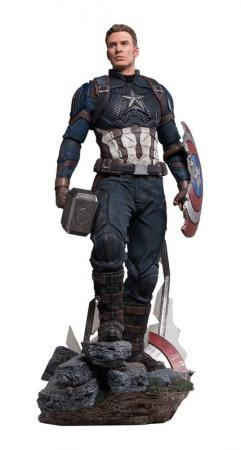 Avengers Endgame: Captain America Legacy Replica DELUXE Version - Statue 1/4 - Iron Studio