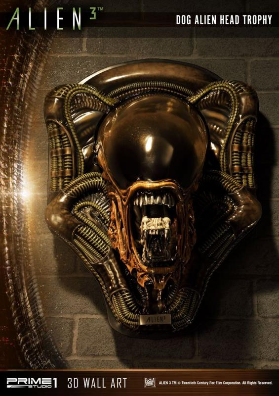 Alien 3 3D Wall Art Dog Alien Open Mouth Version 58 cm