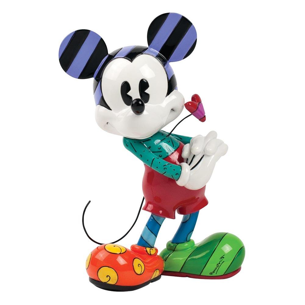 Britto Mickey with Heart Figurine 20,5 cm