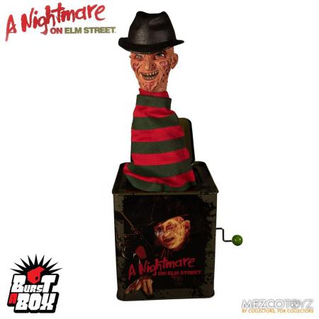 Nightmare On Elm Street: Freddy Krueger - Burst-A-Box Music Box 36 cm - Mezco