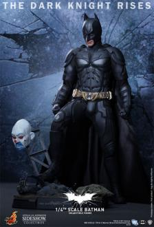 Batman The Dark Knight Rises 1/4 Batman Hot Toys 47 cm