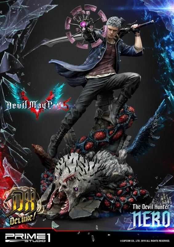 Devil May Cry 5: Nero Deluxe Ver. - Statue 70 cm - Prime 1 Studio